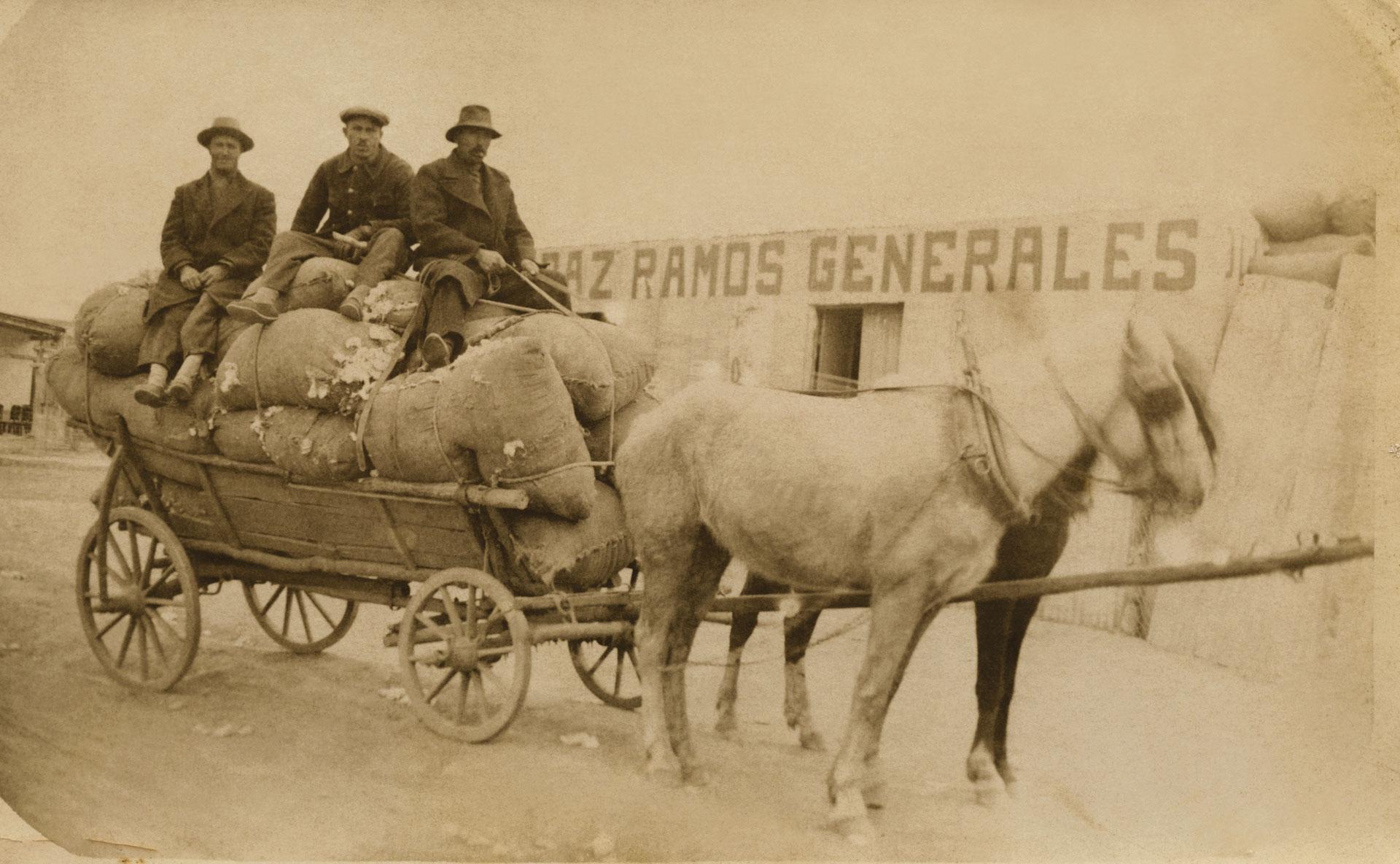 Wóz, droga do Chaco