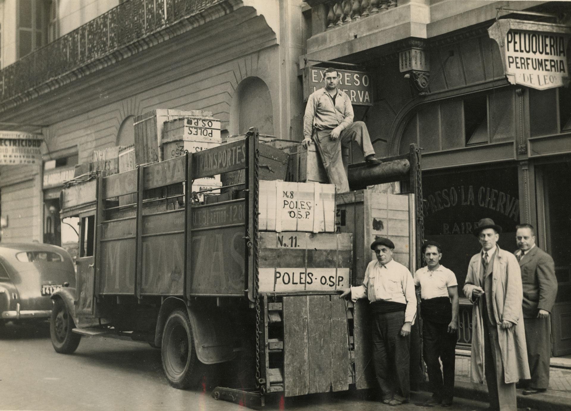 Ciężarówka w Buenos Aires